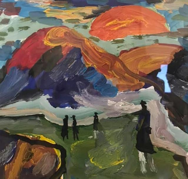 Выставка Олега Чернова на Кавказских Минеральных Водах