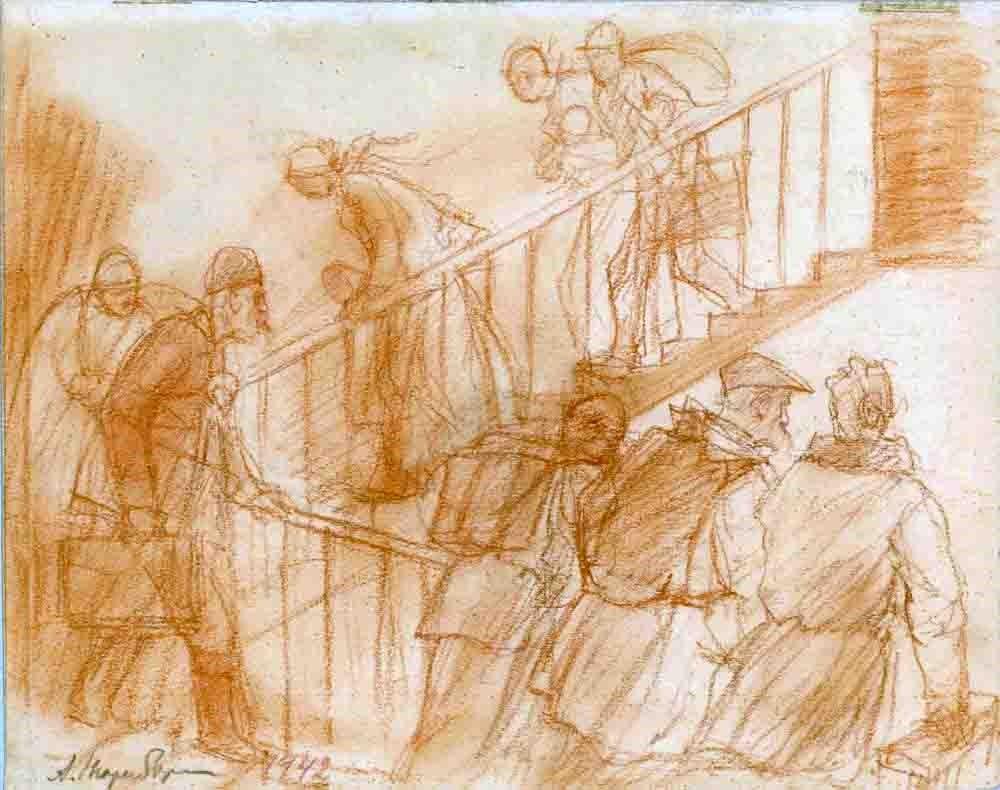 Как художники пережили войну. Из архива Амшея Нюренберга. Часть 2