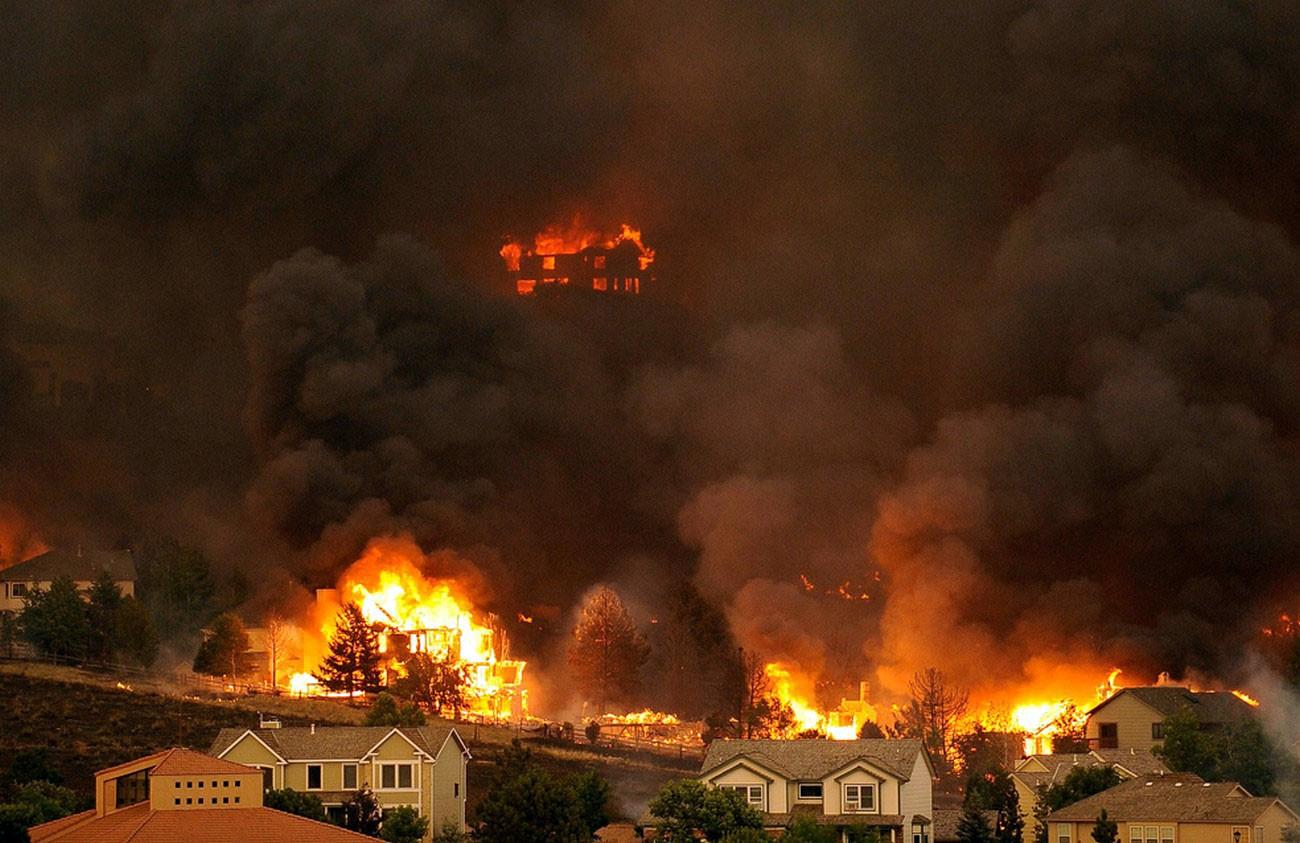 Пожары в Калифорнии. Посланник Сатаны