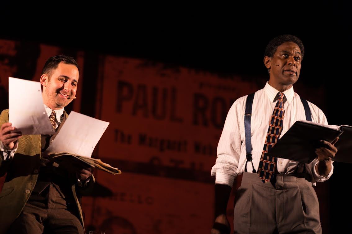 Нью-Йоркский театр «Фольксбине» о том, как американец Поль Робсон потерял своих еврейских друзей в СССР, а с ними и веру в социализм