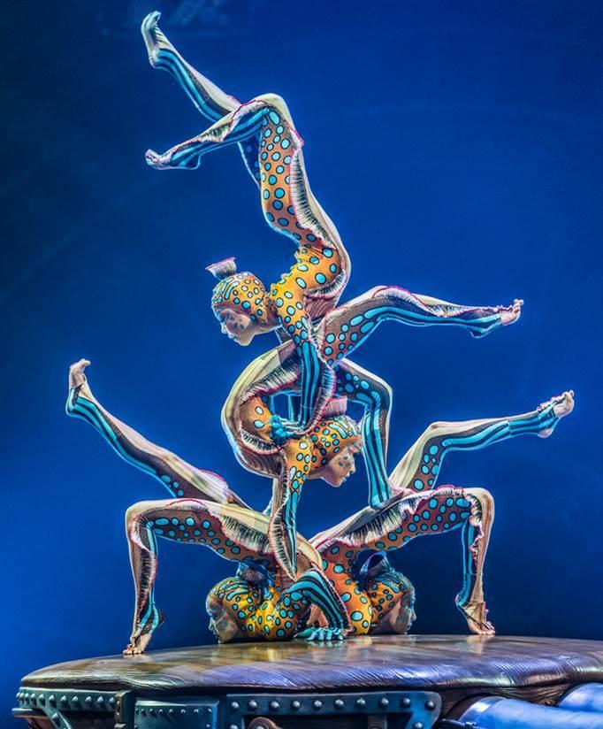 «Кунсткамера» в цирке Дю Солей - одно из лучших цирковых представлений в мире