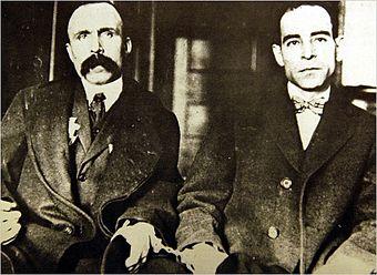 Сакко и Ванцетти. Карандашные герои