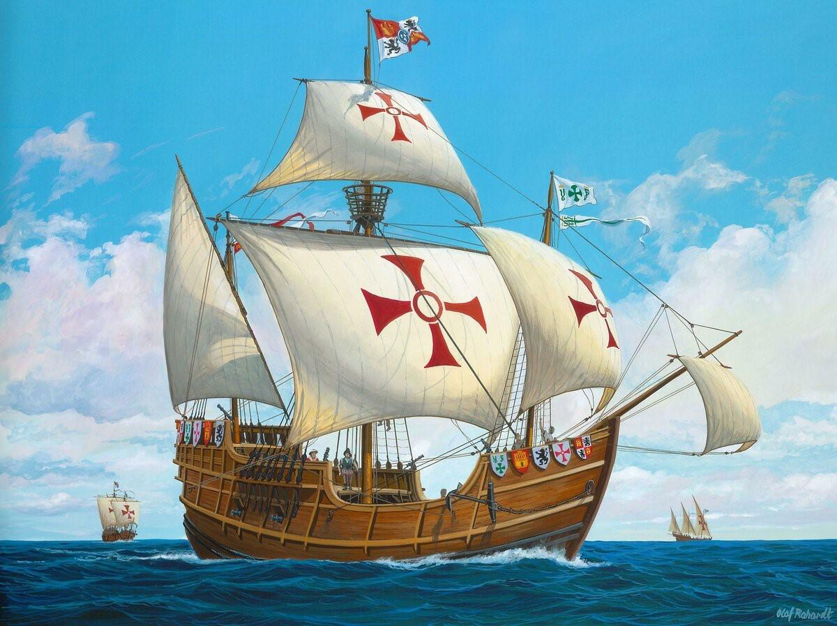 Корабли – памятники. Часть 4. Каравеллы Колумба