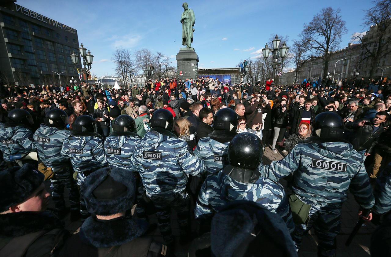 Прогулка по Тверской как предвестье обновления