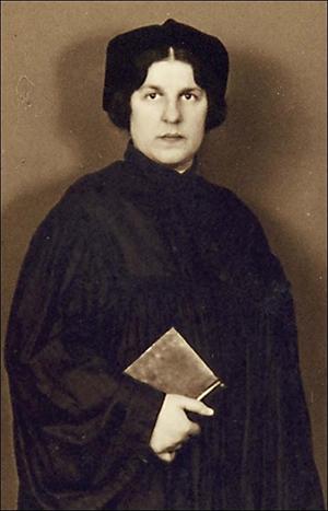 Первая в мире женщина-раввин Регина Йонас