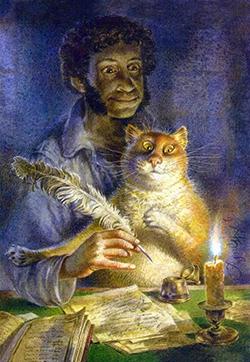 К Всемирному Дню кошек. Из записок на коленке