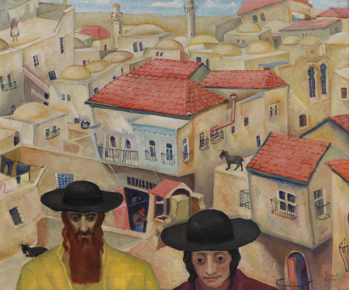 Тодрос Геллер. Еврейский художник из Чикаго