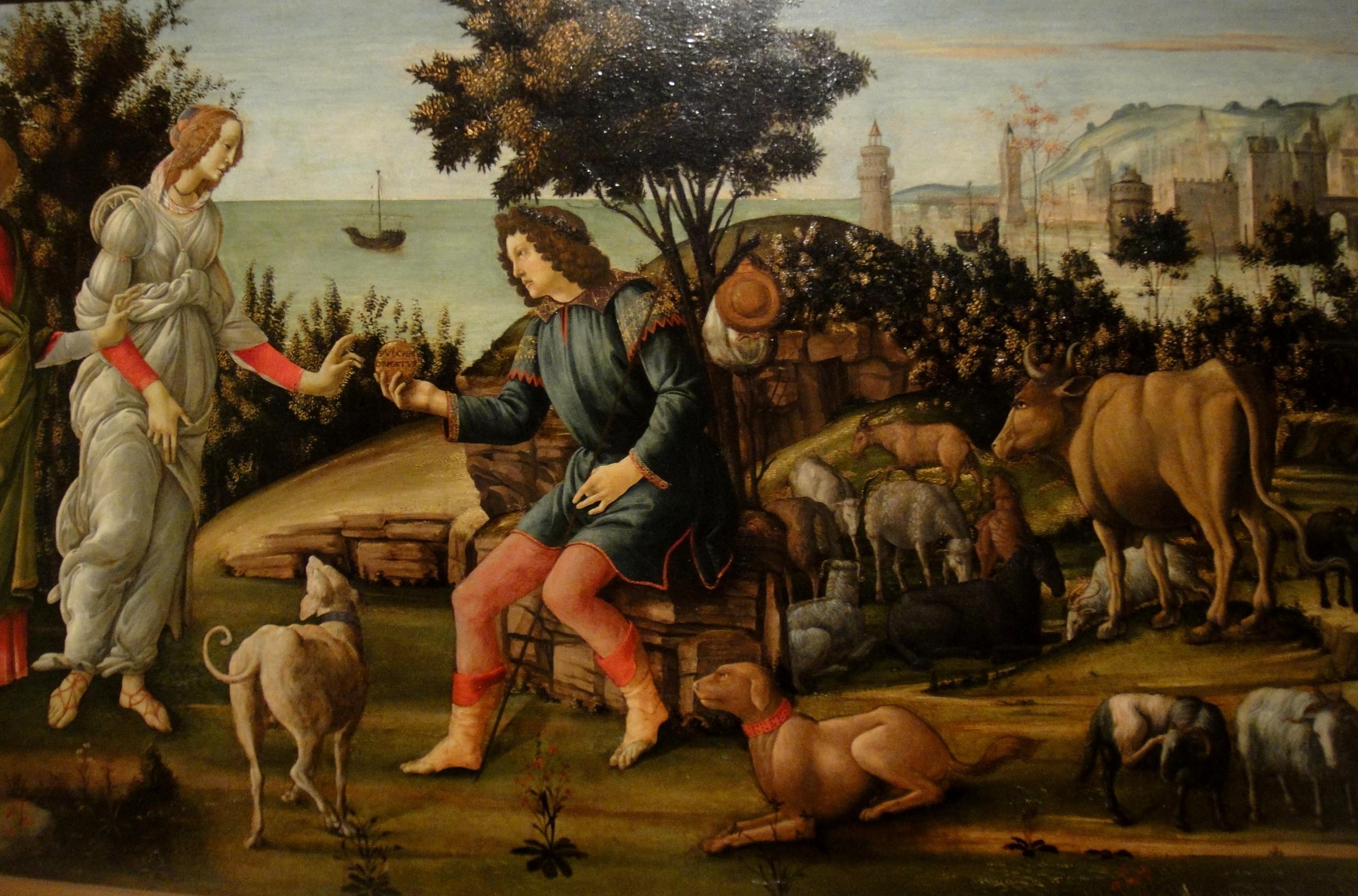 Боттичелли и поиск божественного.Выставка работ Сандро Боттичелли в Музее Изящных Искусств Бостона