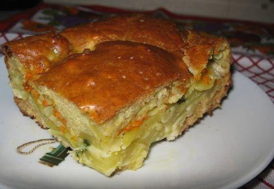 Мои рецепты. Воспитание мужа картофельным пирогом