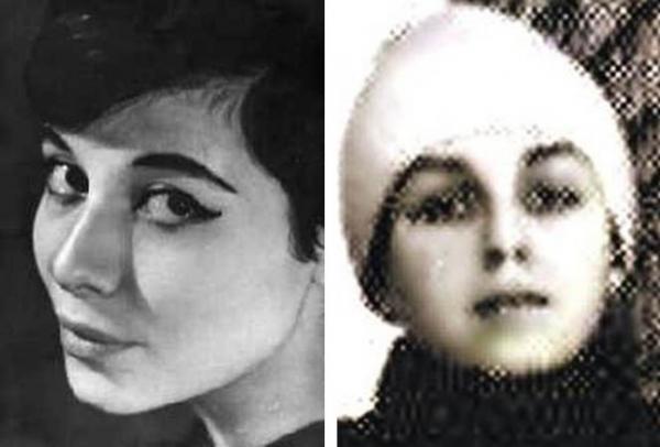 Ася Пекуровская и Марина Басманова