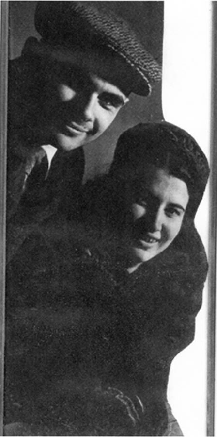 Д.Храбровицкий и Л.Ребельская (Кузнецова)