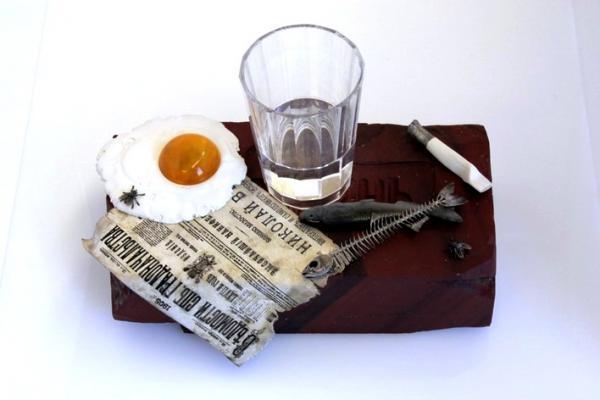 Фаберже? Пролетарский завтрак. Музей Фаберже