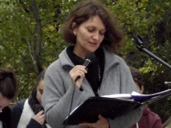 Филолог Вероника Бургер
