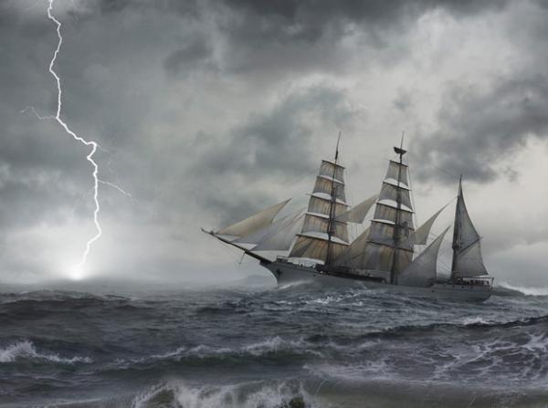 «Мария Селеста» посреди океана