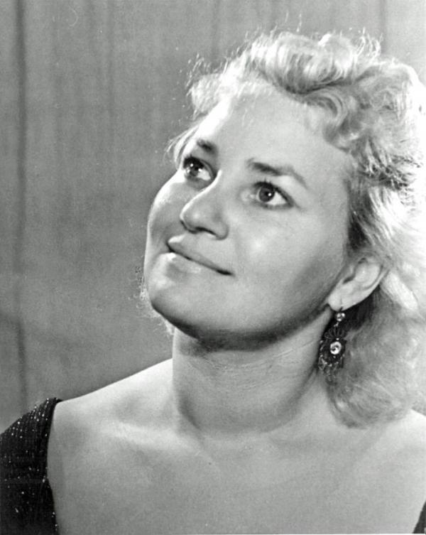 Нина Нелина 1962 Москва. Из архива Ольги Трифоновой-Тангян