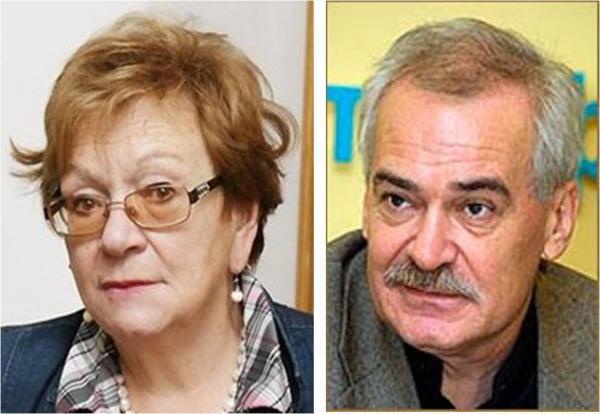 Нина Попова и Николай Буров