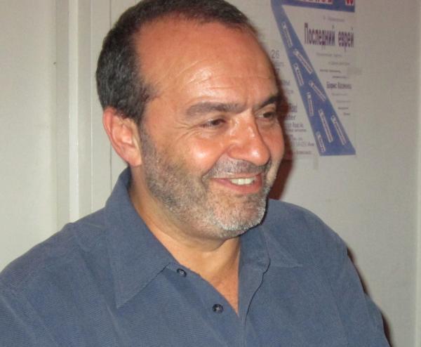 Виктор Шендерович в Вашингтоне, сентябрь 2015