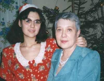 Тамара Зибунова с дочкой