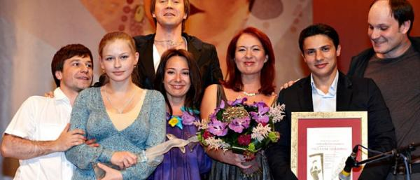 """На церемонии награждения премией """"Хрустальный Турандот"""""""", 2009"""