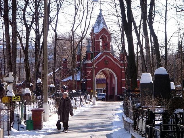 Введенское - самое иноверческое кладбище Москвы